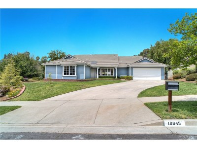 Shadow Hills Single Family Home For Sale: 10845 Wicks Street