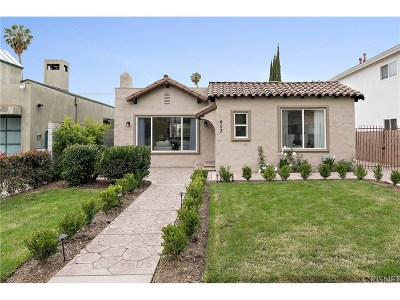 Los Angeles County Single Family Home For Sale: 453 North Croft Avenue