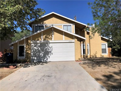 Palmdale Single Family Home For Sale: 37523 Sharon Lane