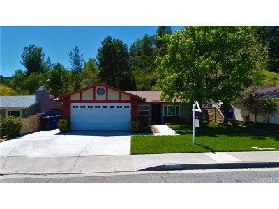 Los Angeles County Single Family Home For Sale: 31571 Hipshot Drive