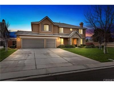 Lancaster Single Family Home For Sale: 3166 West Avenue M2