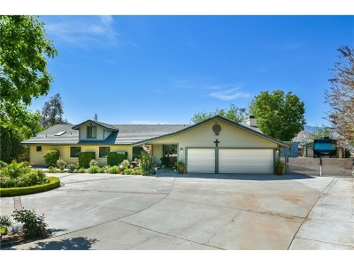 Acton Single Family Home For Sale: 32904 Old Miner Road