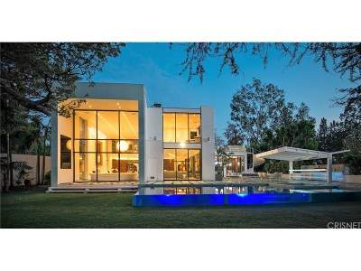 Beverly Hills Single Family Home For Sale: 1024 Summit Drive