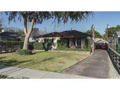 Pasadena Single Family Home For Sale: 1676 Kenneth Way