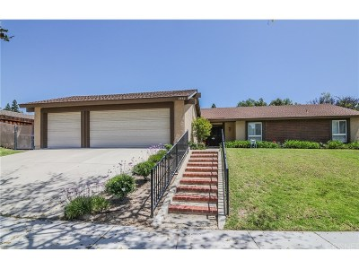 Thousand Oaks Single Family Home For Sale: 2862 Hillman Street
