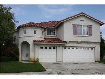 Lancaster Single Family Home For Sale: 42224 Brittle Bush Drive
