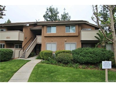 Simi Valley Condo/Townhouse For Sale: 4541 Alamo Street #B