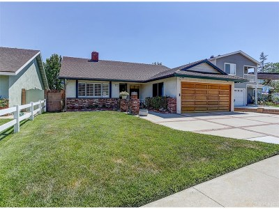 Canoga Park Single Family Home For Sale: 21026 Hackney Street