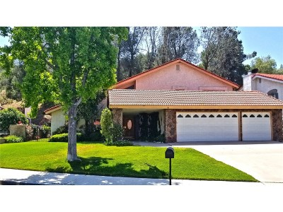 Saugus Single Family Home For Sale: 21210 Georgetown Drive