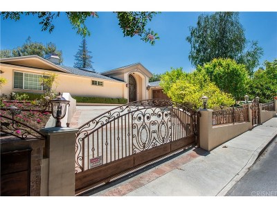 Encino Single Family Home For Sale: 16641 Adlon Road