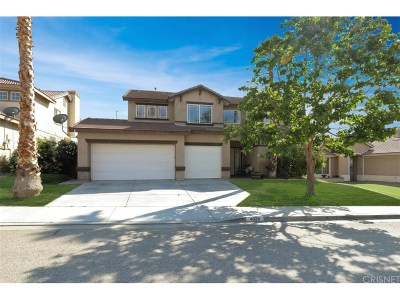 Palmdale Single Family Home For Sale: 4028 Portola Drive
