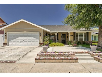 Canyon Country Single Family Home For Sale: 19631 Fairweather Street