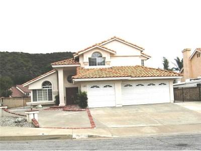 Saugus Single Family Home For Sale: 28730 Kathleen Avenue