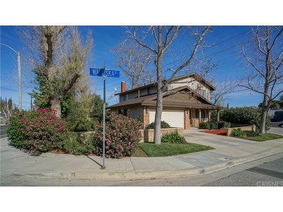 Newhall Single Family Home For Sale: 24131 Wabuska Street