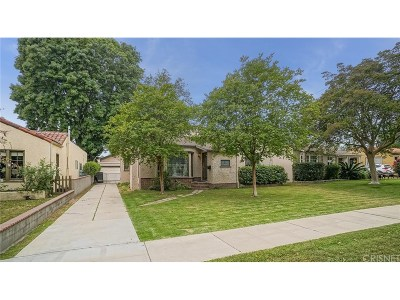 Burbank Single Family Home For Sale: 649 North Orchard Drive