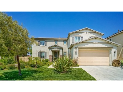 Canyon Country Single Family Home For Sale: 27243 Golden Willow Way