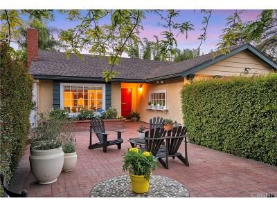Toluca Lake Single Family Home For Sale: 11139 Hortense Street