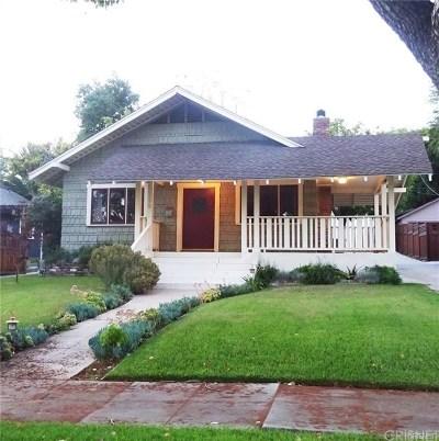Pasadena Single Family Home For Sale: 1279 East Topeka Street