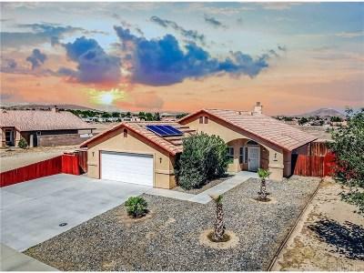 Rosamond Single Family Home For Sale: 3144 Gordon Street