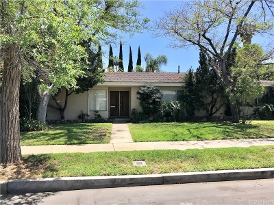 Sherman Oaks Single Family Home For Sale: 15036 Killion Street