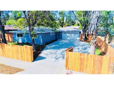 Lakeview Terrace Single Family Home For Sale: 11444 Gladstone Avenue