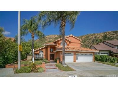 Saugus Single Family Home For Sale: 28740 Darrow Avenue