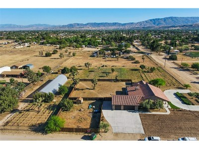 Palmdale Single Family Home For Sale: 41346 27th St W