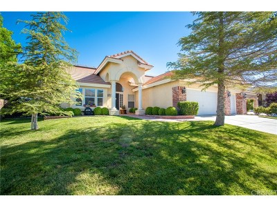 Lancaster Single Family Home For Sale: 4035 Via Rebeca