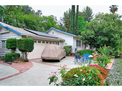 Woodland Hills Single Family Home For Sale: 20955 De Mina Street