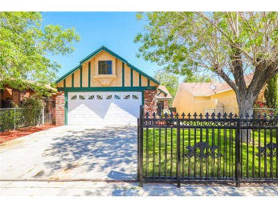 Palmdale Single Family Home For Sale: 1227 East Avenue R7