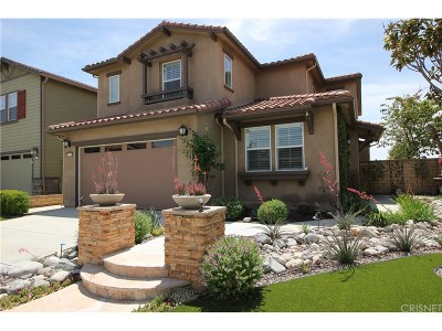 Saugus Single Family Home For Sale: 26599 Millhouse Drive