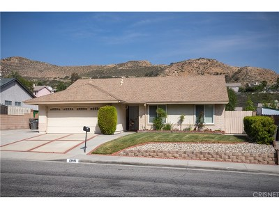 Canyon Country Single Family Home For Sale: 29616 Abelia Road