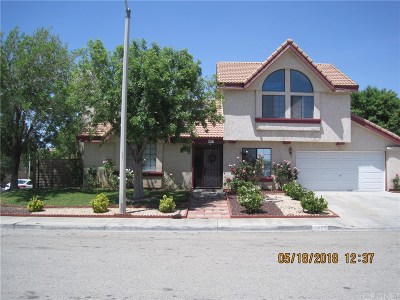 Palmdale Single Family Home For Sale: 5377 Blue Sage Drive