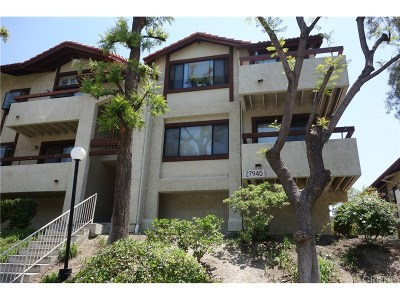 Canyon Country Condo/Townhouse For Sale: 27940 Tyler Lane #453