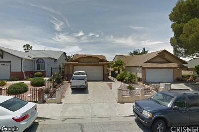 Palmdale Single Family Home For Sale: 37625 Lasker Avenue