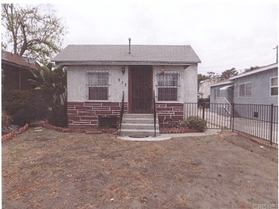 Los Angeles Single Family Home For Sale: 935 East 52nd Place