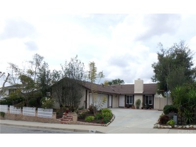 Thousand Oaks Single Family Home For Sale: 786 Bright Star Street