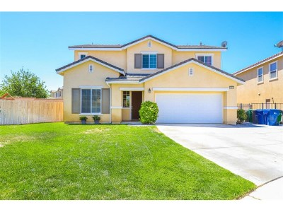 Lancaster Single Family Home For Sale: 43878 Marbella Street