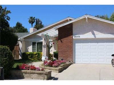Los Angeles County Single Family Home For Sale: 25373 Via Dona Christa
