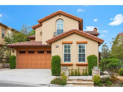 Calabasas CA Single Family Home For Sale: $1,149,000