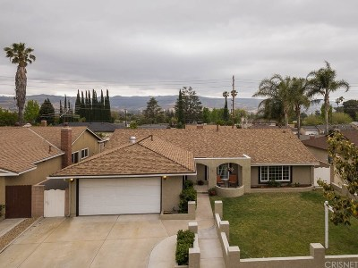 Simi Valley CA Single Family Home For Sale: $627,000
