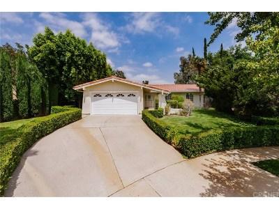 Chatsworth Single Family Home For Sale: 10958 Oklahoma Avenue