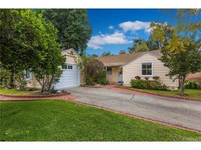 Northridge Single Family Home For Sale: 17350 Elkwood Street