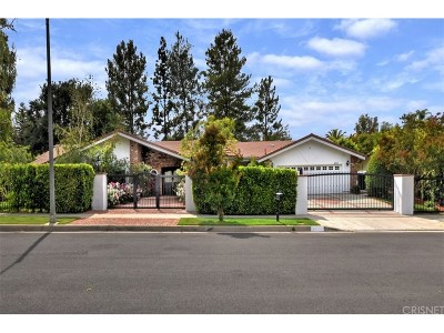 Woodland Hills Single Family Home For Sale: 4661 Vista De Oro Avenue