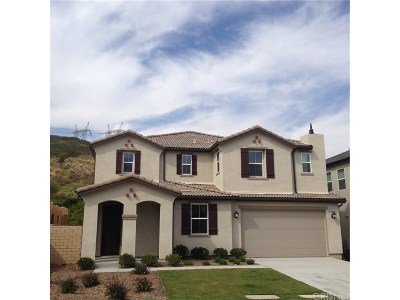 Saugus Single Family Home For Sale: 19177 Bension Drive