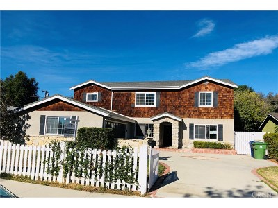 Los Angeles County Single Family Home For Sale: 23351 Hamlin Street