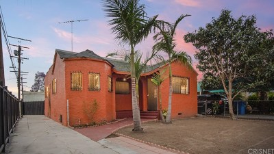 Los Angeles Single Family Home For Sale: 942 East 88th Place