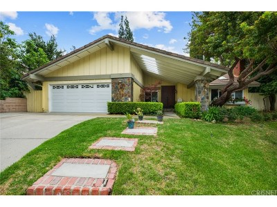 Westlake Village Single Family Home For Sale: 3153 Adirondack Court