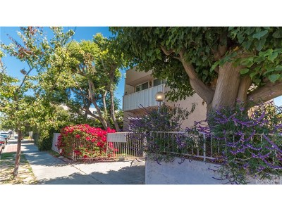 Santa Monica Condo/Townhouse For Sale: 1332 Berkeley Street #5