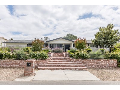 Thousand Oaks Single Family Home For Sale: 888 Rancho Road